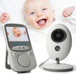 Draadloze baby camera met Intercom nachtvisie en temperatuursensor