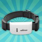 GPS Tracker Voor Hond of Kat GPS halsband zwart