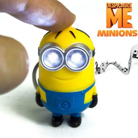 Zeer geinige Minion sleutelhanger