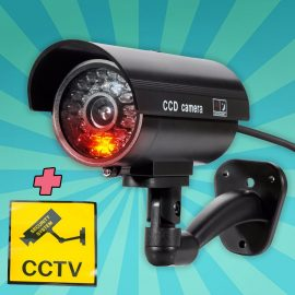 Nep camera met led licht outdoor of indoor waterdicht