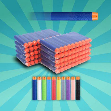 100 nerf pijltjes Refill Standaard Darts Schuim Kogels