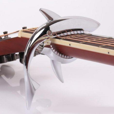 Gitaar capo haai voor elektrische of akoestische gitaar