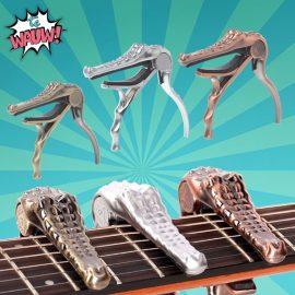 Gitaar capo krokodil voor elektrische of akoestische gitaar