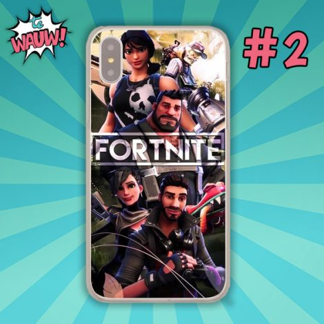 Fortnite telefoonhoes Apple iPhone 11 X of 10 8 7 6 6s Plus 5 5s SE 5C 4 4s of Samsung S9 S9Plus S8 S8 Plus S7 S6 S5