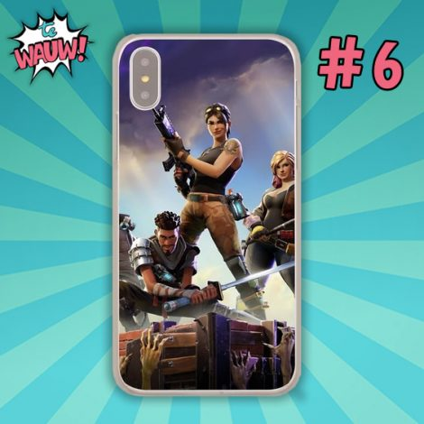 Fortnite telefoonhoes Apple iPhone X of 10 8 7 6 6s Plus 5 5s SE 5C 4 4s of Samsung S9 S9Plus S8 S8 Plus S7 S6 S5