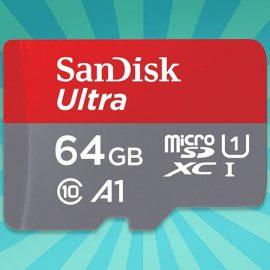 SANDISK MicroSD 64GB Klasse 10