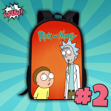 Rick and Morty – school rugtas